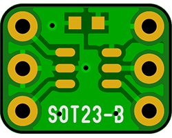 画像1: ピッチ変換基板(0.95/6P)(10枚入)