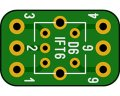IFT変換基板(6x6)(5枚入)
