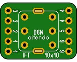 画像1: IFT変換基板(3枚入)