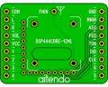 DSPラジオモジュールDIP化基板(444)