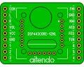 DSPラジオモジュールDIP化基板(443)