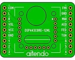画像1: DSPラジオモジュールDIP化基板(443)