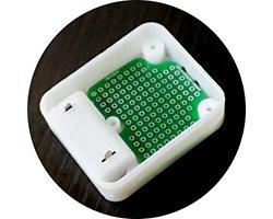 画像2: ケース対応ユニバーサル基板(2枚入)