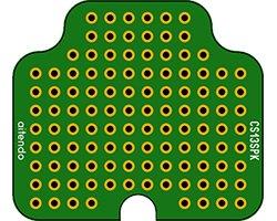 画像1: ケース対応ユニバーサル基板(2枚入)