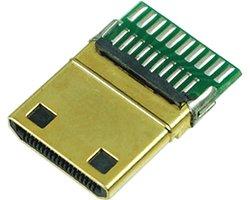 画像1: 基板実装済みHDMIプラグ