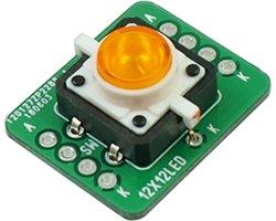 画像1: LED付きスイッチDIP化基板