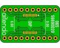 ピッチ変換基板(0.65/20P)(2枚入)