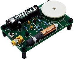 画像1: 単四電池1本で動作!AMラジオキット