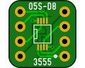 ピッチ変換基板(0.5/8P)(10枚入)