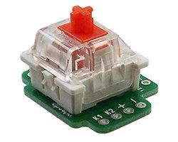 画像1: メカニカルK/BスイッチDIP化基板(4枚入)