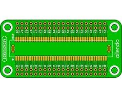 画像1: エッジコネクタ変換基板