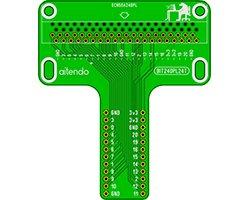 画像1: microbit:DIP化T字基板