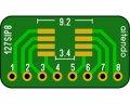 SIP変換基板(1.27/8P)(3枚入)