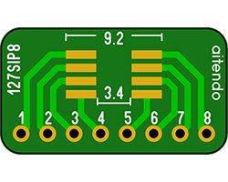 画像1: SIP変換基板(1.27/8P)(3枚入)