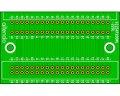 エッジコネクタ変換基板(2.54/40P)