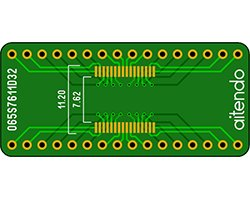 画像1: ピッチ変換基板(0.65/32P)