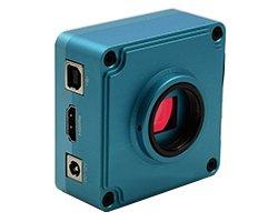 画像1: フルHD顕微鏡用CCDカメラ