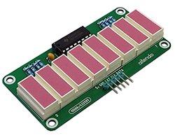 画像1: 国産ライトバーLED表示器(SPI)