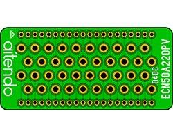 画像1: エッジコネクタ変換基板(2枚入)