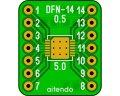ピッチ変換基板(0.5/14P)(2枚入)