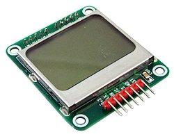 画像1: ノキア5110液晶モジュール(SPI)