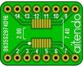 ピッチ変換基板(0.635/16P)(3枚入)