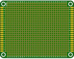 画像1: ユニバーサル基板(70X90)
