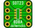 ピッチ変換基板(SOT23-8)(10枚入)