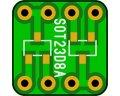 ピッチ変換基板(SOT-23)(10枚入)