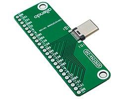 画像1: USBコネクタwith基板(3.1/タイプC)