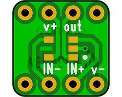 画像1: オペアンプ変換基板(SOT-23)(8枚入)