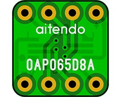 画像2: オペアンプ変換基板(0.65/8P)(8枚入)