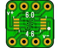 画像1: オペアンプ変換基板(0.65/8P)(8枚入)