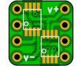 オペアンプ変換基板(0.65/8P)(8枚入)