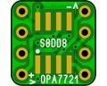 オペアンプ変換基板(SOP-8)(8枚入)