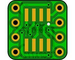 画像2: オペアンプ変換基板(SOP-8)(8枚入)