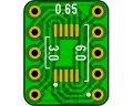両用ピッチ変換基板(0.5-0.65/10P)(6枚入)