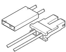 画像1: リセプタクル/ソケット変換ケーブル