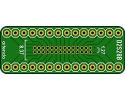 画像1: DIP-SOP変換基板(28P)