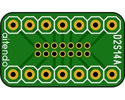 画像1: DIP-SOP変換基板(14P)(2枚入)