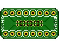 画像1: DIP-SOP変換基板(16P)(2枚入)