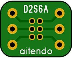 画像1: DIP-SOP変換基板(6P)(6枚入)