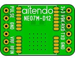 画像1: GPSモジュール変換基板
