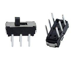 画像1: ★2回路2接点★スライドスイッチ(10個入)