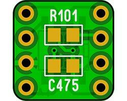 画像2: メロディチップDIP化基板セット