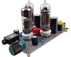 画像1: 低電圧真空管ヘッドホンアンプキット
