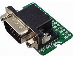 画像1: DB15コネクタwith基板