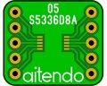 ピッチ変換基板(0.5/10P)(8枚入)