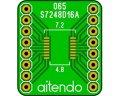 ピッチ変換基板(0.65/16P)(3枚入)