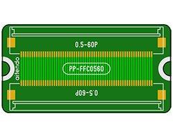 画像1: 0.5mmピッチFFC連結基板